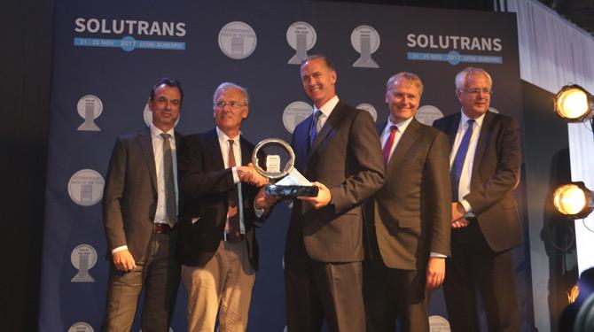 2018 Uluslararası Yılın Kamyonu Ödülünü DAF Aldı