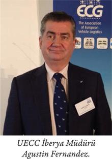 UECC İberya Müdürü Agustin Fernandez