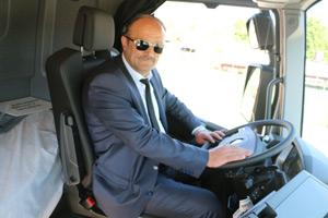 Alibey Uluslararası Nakliyat Yönetim Kurulu Başkanı İbrahim Kaya