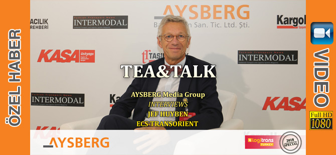 Tea & Talk 2018; ECS-Transorient Key Account Direktörü Jef Huyben (video)