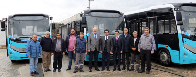 Bergama Belediyesi 4 Adet Otokar Sultan LF'yi Filosuna Kattı