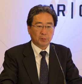 Bridgestone Corporation Başkan Yardımcısı ve Brisa Yönetim Kurulu Başkan Yardımcısı ve JV Yönetici Ortağı Makoto Hashimoto