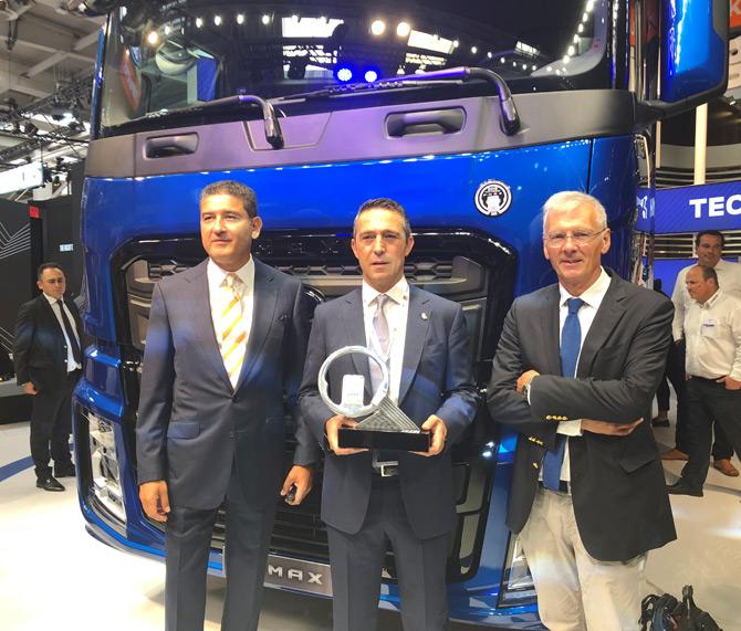 Ford Truck F-MAX '2019 Yılın Kamyonu' Seçildi