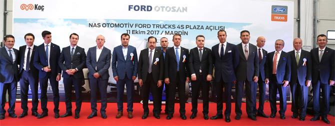 Ford Trucks, 4S Plazası Mardin'de Hizmete Açıldı