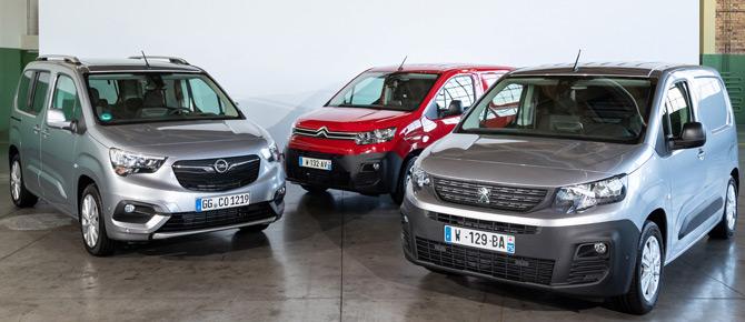 Groupe PSA'nın Üç Yeni Ticari Aracı 2019 Yılı Yılın Ticari Aracı Ödülünü Kazandı