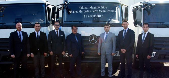 Hakmar Şirketler Grubu Filosu Mercedes-Benz İle Güçlendi