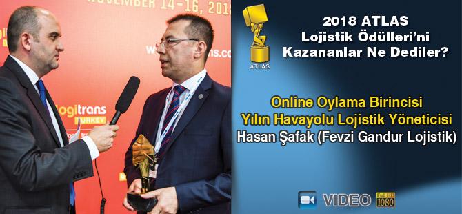 Lojistik Ödülleri 2018'i Kazananlar Ne Dediler? Hasan Şafak (Fevzi Gandur Lojistik) - Video