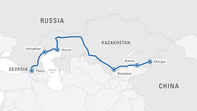 Historic moment for China-Eurasia trade as first TIR transit reactivates Silk Road corridor