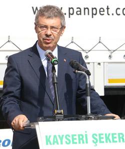 Kayseri Pancar Kooperatifi Yönetim Kurulu Başkanı Hüseyin Akay