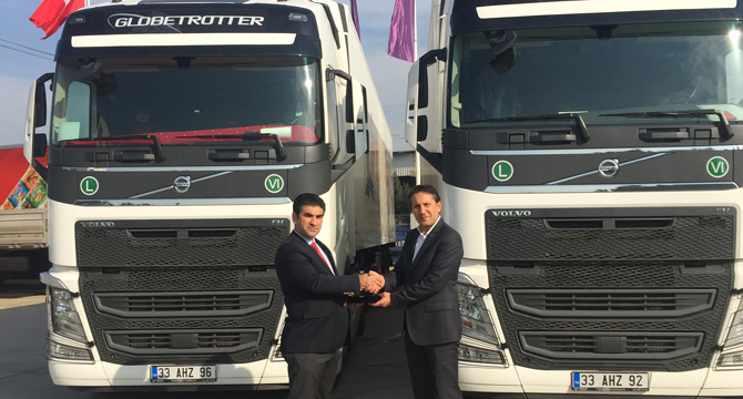 Irmaklar Uluslararası Taşımacılık Volvo Trucks Dedi