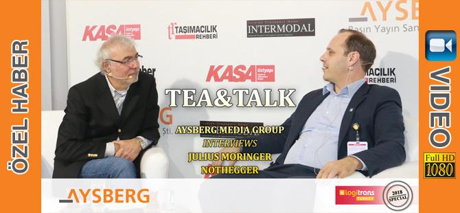 Tea & Talk 2018; Nothegger Ülke Müdürü Julius Moringer (video)