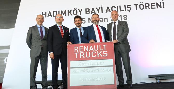 Koçaslanlar Hadımköy Şubesini Renault Trucks Dünya Başkanı İle Açtı
