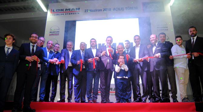 Lokman Koçaslan Otomotiv'in 3'ncü MAN Yetkili Satış ve Servis Merkezi Bursa'da Açıldı
