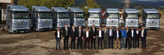 Mercedes-Benz Türk Teslimatları Hız Kesmiyor
