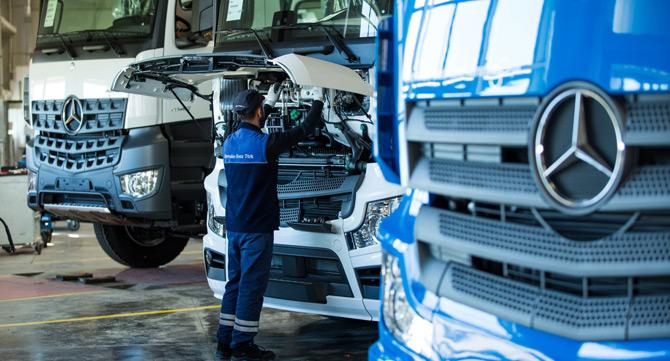 Mercedes Aksaray Kamyon Fabrikası'na 200 Yeni Personel Alınacak