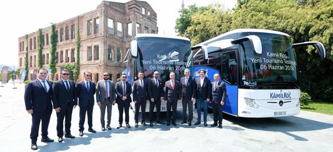 Mercedes-Benz'den Kamil Koç'a 35 Adet 2+1 Tourismo