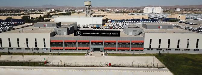 Mercedes-Benz Türk İkinci Resmi Ar-Ge Merkezi Unvanını Aldı