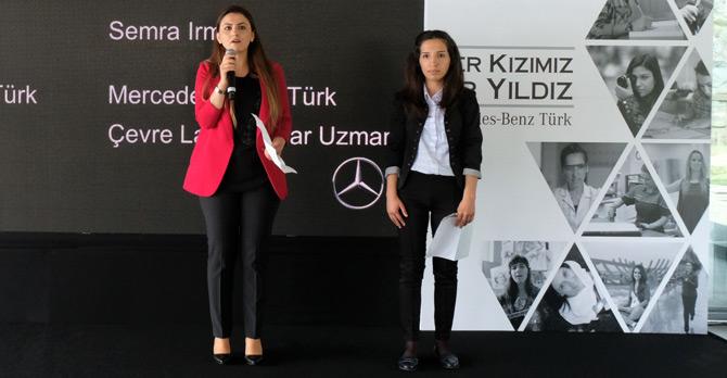 """Yıldız Kızlar: """"Mercedes-Benz Türk ile geleceği hayal edebiliyoruz"""""""