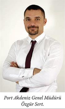 Port Akdeniz Genel Müdürü Özgür Sert