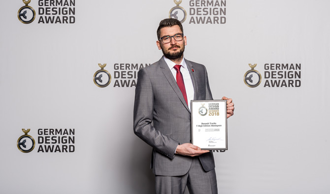 Renault Trucks'ın T Serisi Alman Tasarım Ödülünün Sahibi Oldu