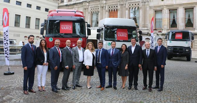 Renault Trucks Başarılı Ekibi Yeniden Topladı: Hedefler Büyüdü