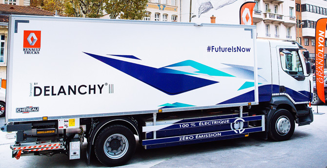 Renault Trucks Elektrikli Kamyon Satışına Başlıyor
