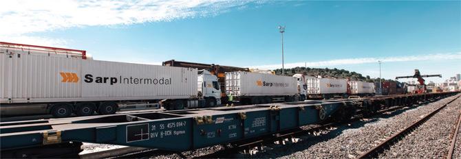 'Sarp Intermodal' Hem Kendini Hem de Sektörü Büyütmeye Kararlı