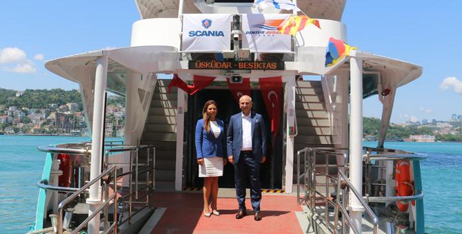Dentur Avrasya, Yeni Gemilerinde Güvenlik ve Verimlilik İçin Scania'yı Tercih Etti