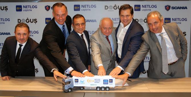 Scania'dan Netlog Lojistik'e 100 Adetlik Dev Teslimat