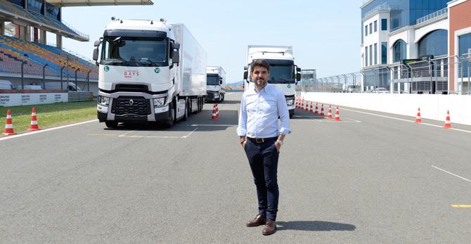 Renault Trucks Türkiye Başkanı Sebastien Delepine