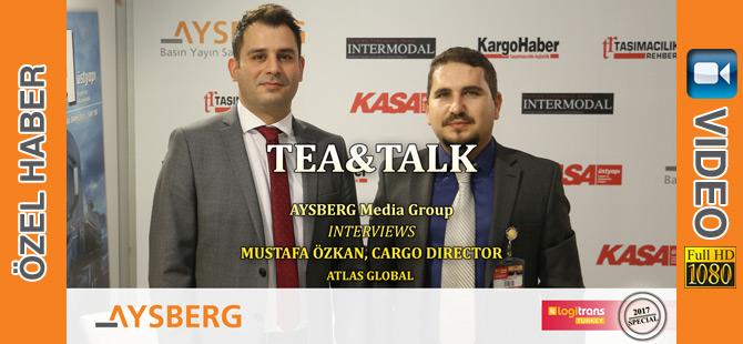 2017 logitrans Fuarı'nda Atlas Global Kargo Direktörü Mustafa Özkan'ı Konuk Ettik (video)