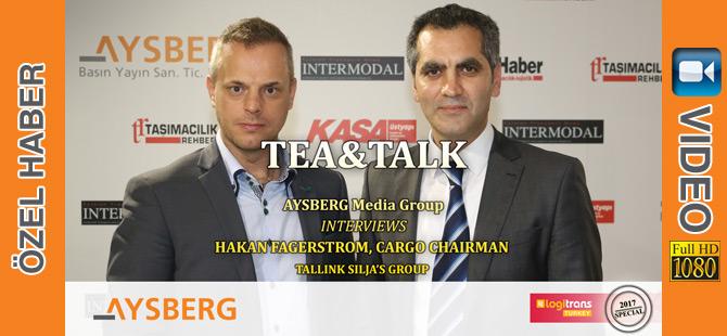 Tea&Talk logitrans Fuarı İlk Gün Konuğu; Hakan Fagerstrom (video)