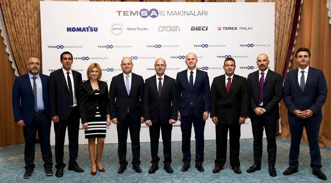 Temsa İş Makinaları Türkiye Ekonomisine Değer Katıyor
