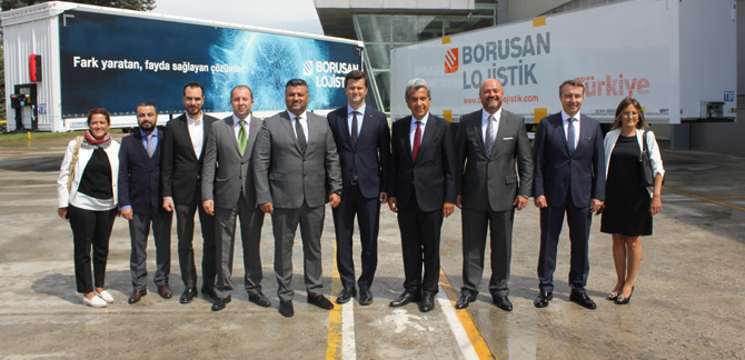 Tırsan ve Borusan Lojistik'ten Endüstriyel İşbirliği
