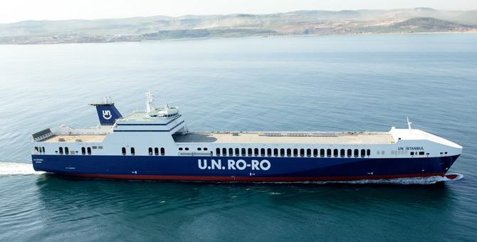U.N. Ro-Ro 950 milyon Avro'ya Danimarkalı deniz taşımacılığı şirketi DFDS'ye satıldı.