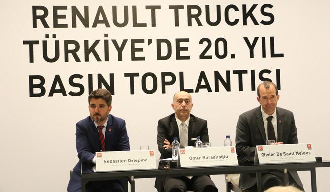 Türkiye'de 20. Yılını Kutlayan Renault Trucks Pazarda Daha İddialı Olacak