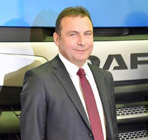 DAF Glokal Genel Müdürü Ümit Karaarslan