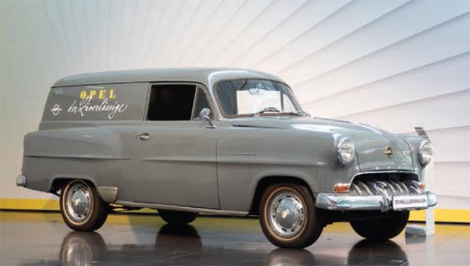 Opel'in Hafif Ticarideki Köklü Geçmişi