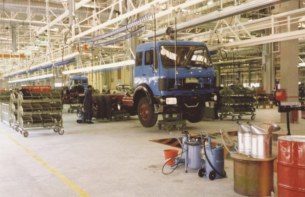 Mercedes Aksaray Kamyon Fabrikası 30'uncu Yılını Kutluyor galerisi resim 3