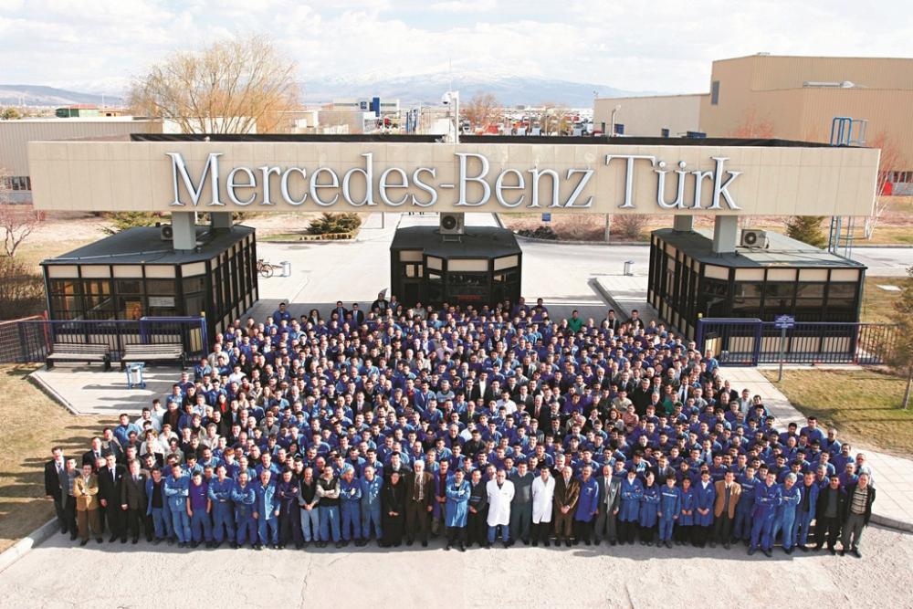 Mercedes Aksaray Kamyon Fabrikası 30'uncu Yılını Kutluyor galerisi resim 5