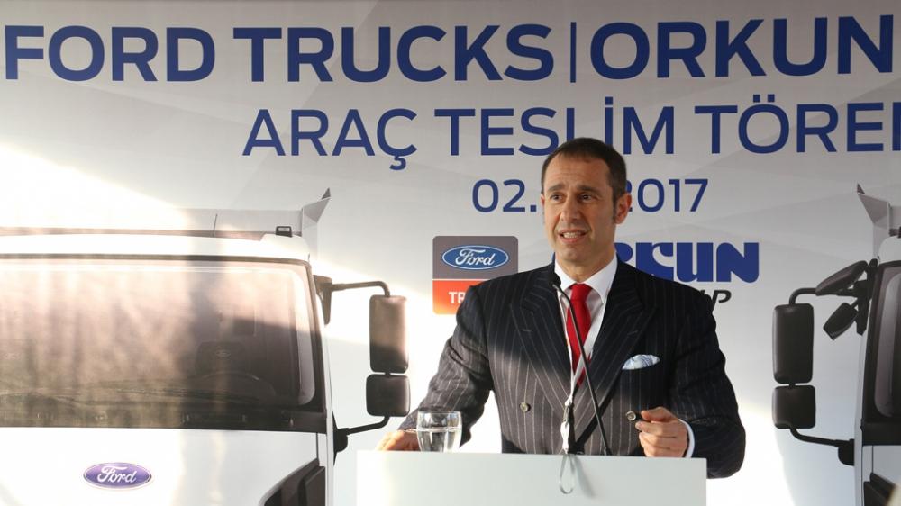 Orkun Grup Ford Trucks'ın Havalimanı İnşaatına Özel Araçlarıyla Taşıma R galerisi resim 2