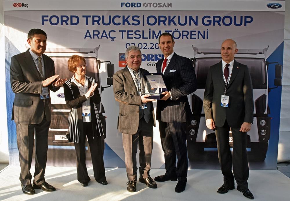Orkun Grup Ford Trucks'ın Havalimanı İnşaatına Özel Araçlarıyla Taşıma R galerisi resim 4