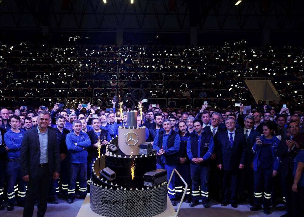 Mercedes-Benz Türk 50'nci Yılını Kutladı galerisi resim 4