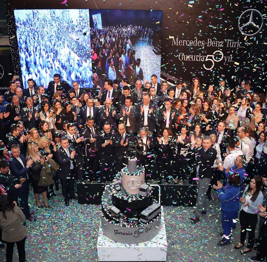 Mercedes-Benz Türk 50'nci Yılını Kutladı galerisi resim 5
