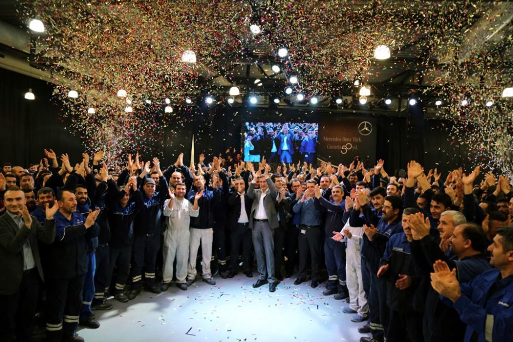 Mercedes-Benz Türk 50'nci Yılını Kutladı galerisi resim 6