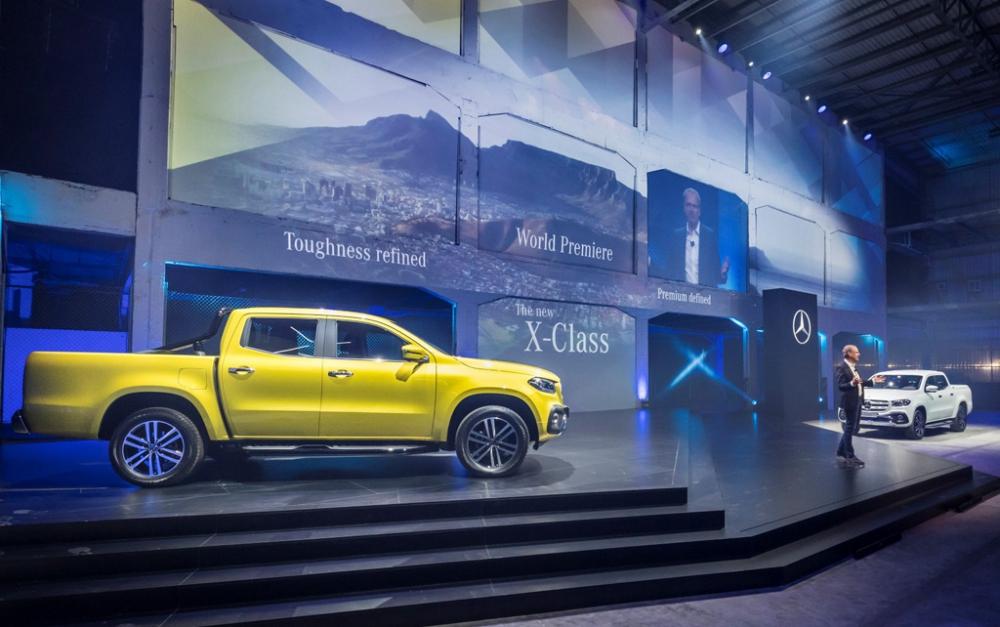 Mercedes-Benz X-Serisi Modeliyle Pick-Up Dünyasına Girdi galerisi resim 1