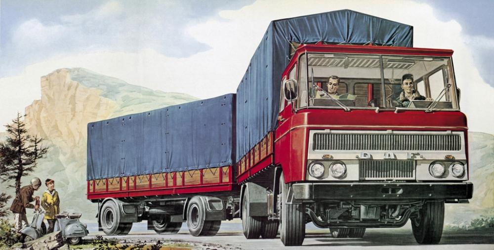Atölyeden Dünya Devine DAF Trucks 90 Yaşında galerisi resim 6