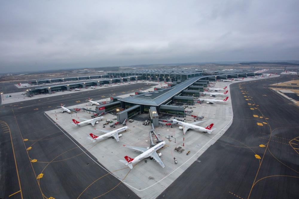 Büyük Taşınma Sonrası İstanbul Havalimanı'ndan İlk Görüntüler galerisi resim 1