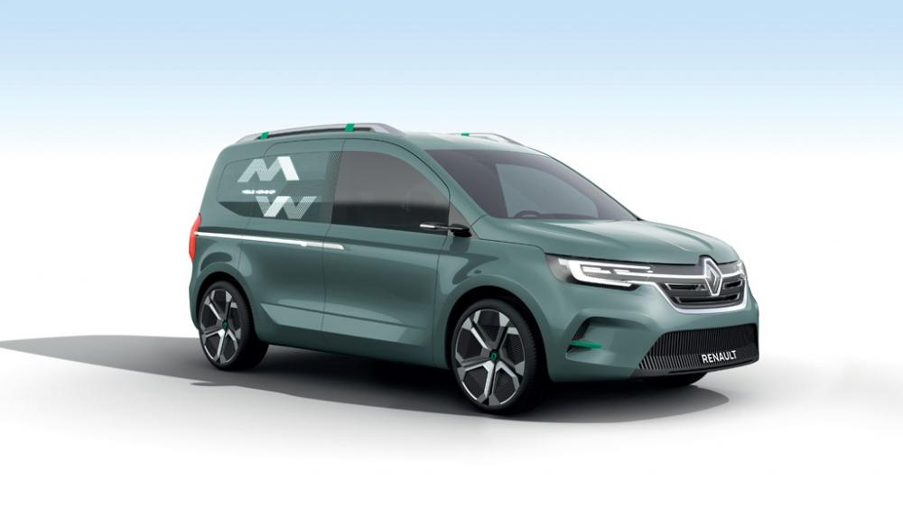 Ticari Modellerini Yenileyen Renault Yeni Kangoo'nun da İpuçlarını Verdi galerisi resim 12
