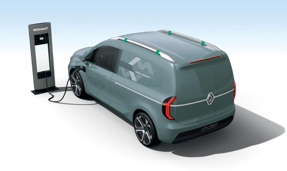 Ticari Modellerini Yenileyen Renault Yeni Kangoo'nun da İpuçlarını Verdi galerisi resim 6